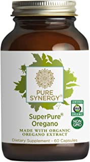 Pure Synergy SuperPure® Oregano Extract (60 Capsules) Made with Organic Oregano for Immune Health Support