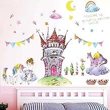 RoomMates Feen Prinzessin Wandtattoo Wandsticker Wandaufkleber Wandbilder