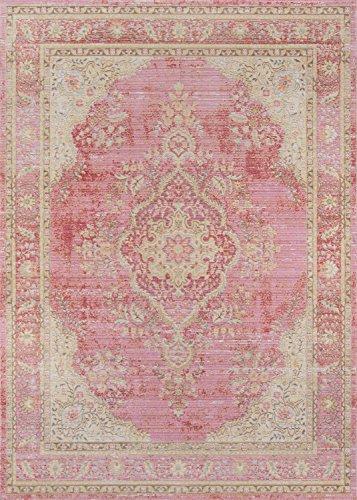 alfombra rosa fabricante Momeni Rugs