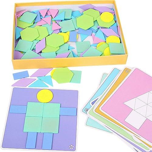 Little Toys Kinderspielzeug Holz Puzzle Intellektuelle Entwicklung Puzzle Früherziehung Puzzle Kreative mädchen Jungen 3-9 Jahre Alt Spielzeug