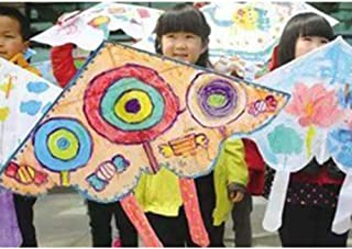 XQDSP DIY Color Kites Children Make Their Own Kites from Hand-Painted Ultimate Slime Kit
