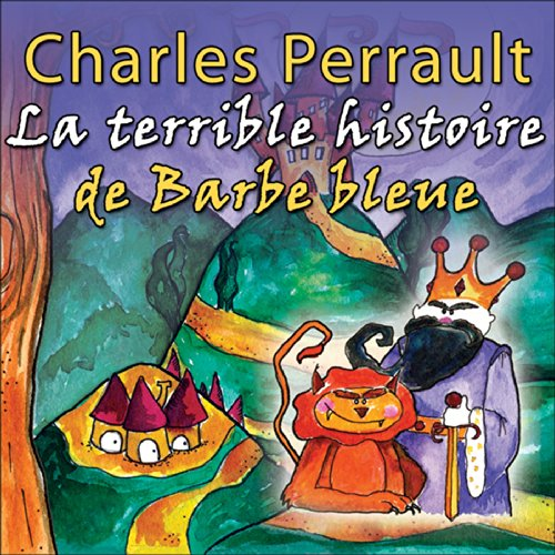 La terrible histoire de Barbe Bleue audiobook cover art