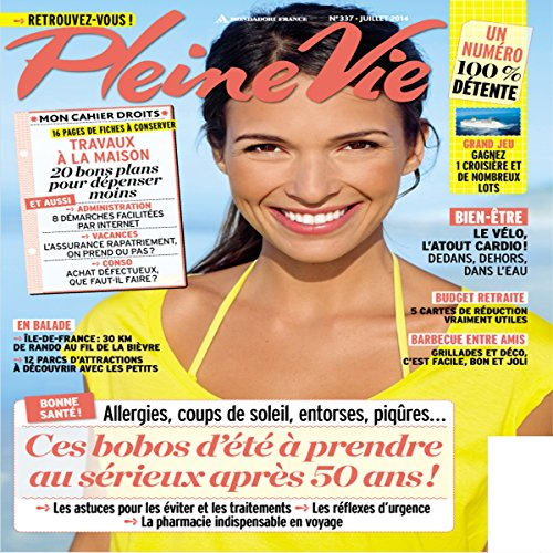 Pleine Vie, Juillet 2014 audiobook cover art