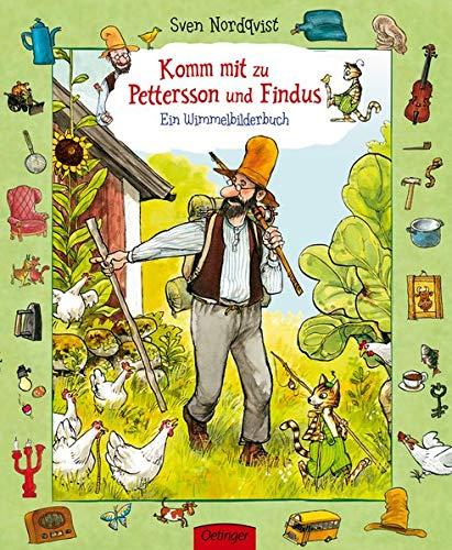 Komm mit zu Pettersson und Findus!: Ein Wimmelbuch: Ab 30 Monate