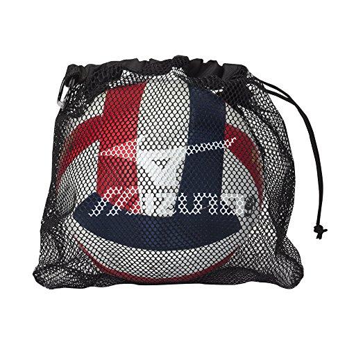 Mizuno Mesh Volleyball Tasche, Schwarz