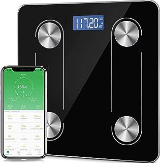 TECHVIDA Body Fat Scale, Smart Scale Bluetooth 4.0 Digital Body Composition Analyzer, 400 pounds, 70 Related data high pre...