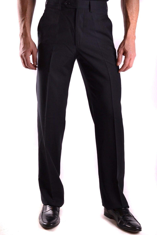 GIANFRANCO FERRé Men's MCBI21824 Black Wool Pants