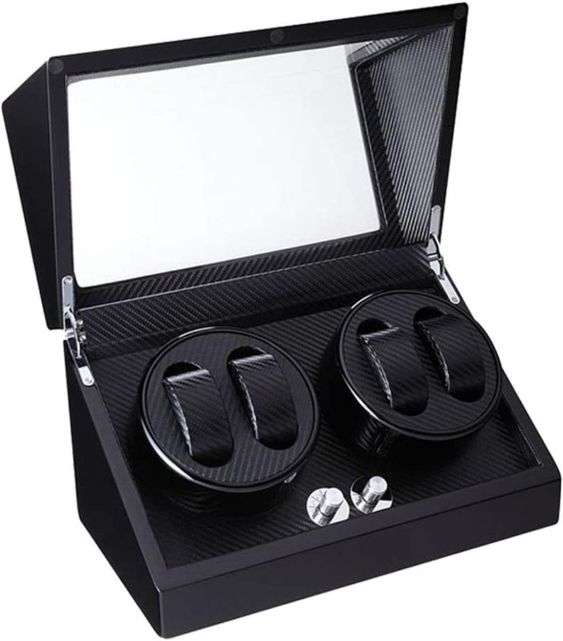 TANGIST Watch Winder 4 Watches 70% OFF Outlet Box and for Lady Quiet Motor Max 81% OFF Man