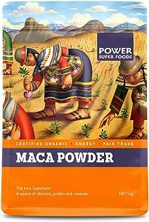 Power Super Foods Organic Maca Powder, 1 kg