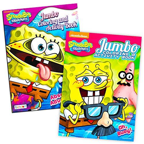 - Spongebob Squarepants Coloring Book Set (2 Coloring Books)- Buy Online In  Albania At Desertcart