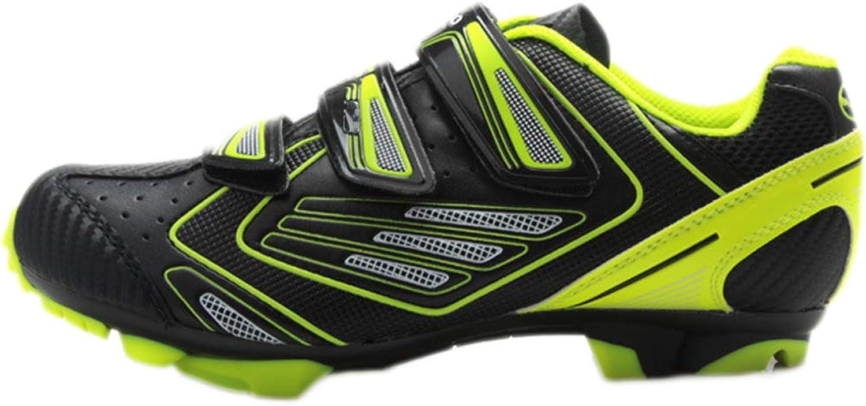 Snfgoij Herren Fahrradschuhe Fahrrad Stollen Trainer atmungsaktive Mountainbike Schuhe Schuhe Trainingsschuhe