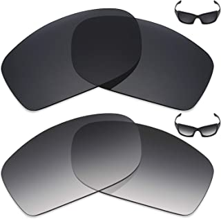 2 Pair Polarized Replacement Lenses for Oakley Fives Squared Sunglass - Options