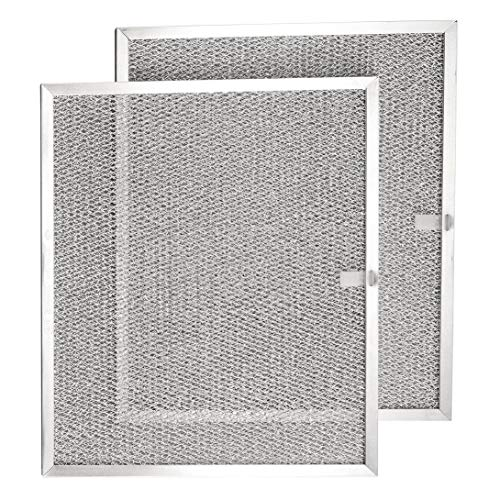 """Broan Model BPS1FA30 Range Hood Filter - 11-3/4"""" X 14-1/4"""" X 3/8"""" Grease Filter BPS1FA30, 99010299 Replacement for NuTone Allure 30"""" WS1 QS2 and Broan QS1 30"""" (Made in USA) (2-Pack)"""