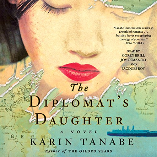 The Diplomat's Daughter audiobook cover art