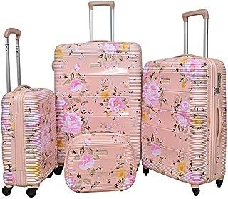 Magellan Hardside spinner luggage Set of 4 pieces with TSA Lock -Pink