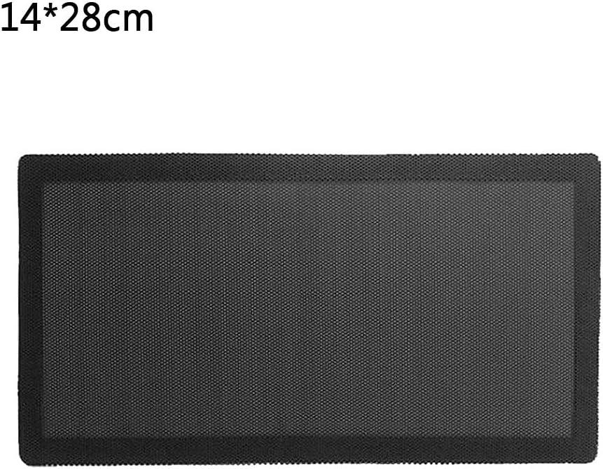 filtro de polvo magn/ético de PVC Xzbnwuviei Red magn/ética antipolvo 14 x 28 mm//12 x 36 mm cubierta de ventilador a prueba de polvo chasis PC