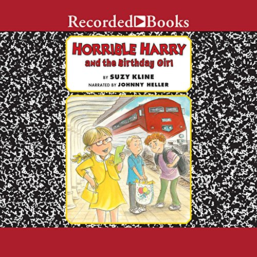 Horrible Harry and the Birthday Girl audiobook cover art