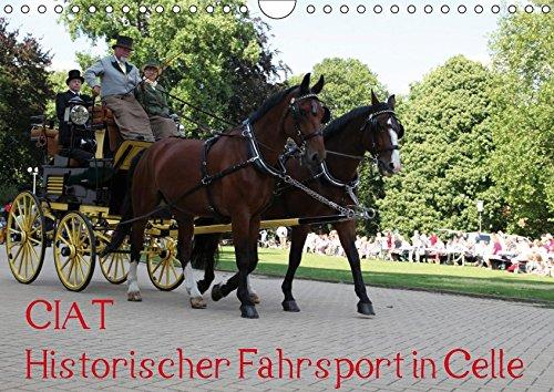 CIAT - Historischer Fahrsport in Celle (Wandkalender 2019 DIN A4 quer): Historischer Fahrsport vor einer imposanten Kulisse (Monatskalender, 14 Seiten ) (CALVENDO Sport)