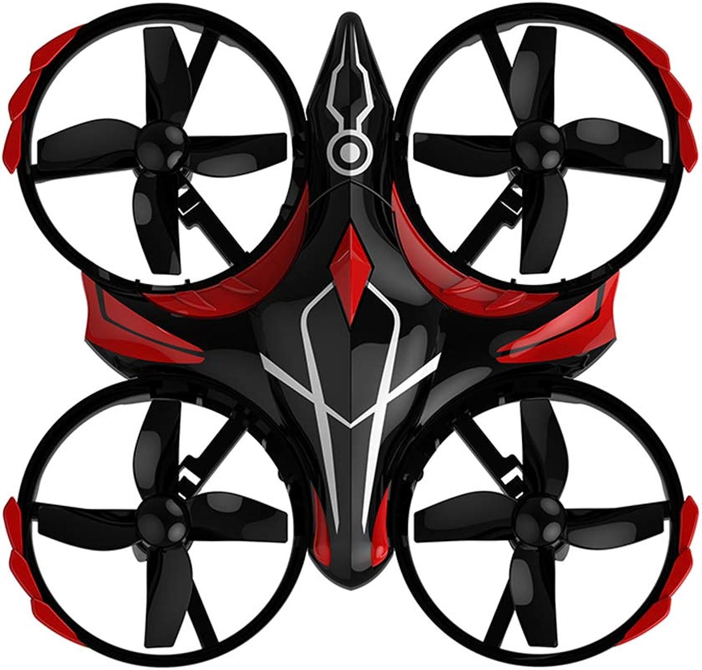 WANGKM Drone a induzione a Quattro Assi Aeromobile 2.4g Luce a LED a infrarossi a 360 ° Tumbling Pressure Fisso ad Alta induzione ad induzione interattiva One-Button Drone