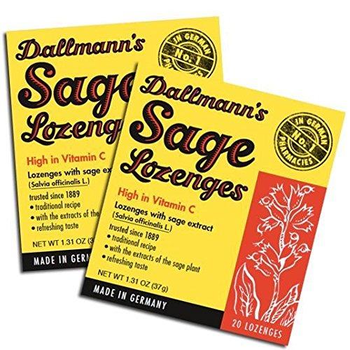 Dallmann Salbeibonbons, 13er Pack (13 x 37 g)