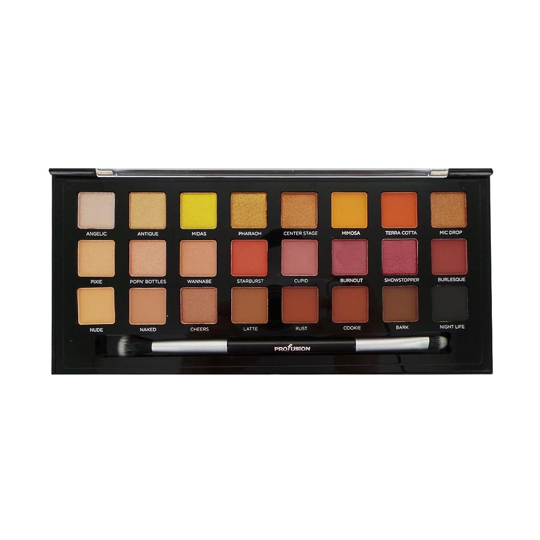 歯痛起きてがんばり続ける(6 Pack) PROFUSION Glitter & Glam 24 Eyeshadow Palette (並行輸入品)