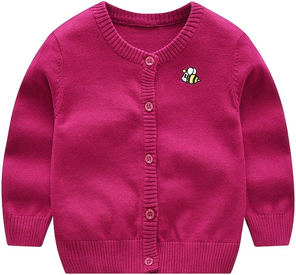 Tortor 1Bacha Little Girls' Assorted Knit Crewneck Cardigan Sweater
