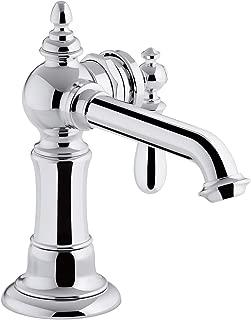 KOHLER K-72762-9M-CP Artifacts Single-handle bathroom sink faucet, Polished Chrome