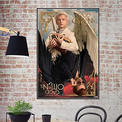 Fanxp Neil Gaiman Movie Puzzles 1000 Piezas Good Omens Abstract Wooden Jigsaw Puzzle Abstract DIY Jigsaws Games Toys 1000 Pieces