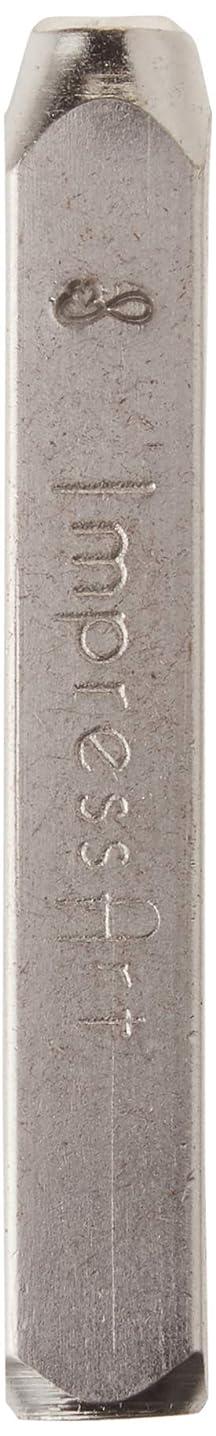 ImpressArt Infinity Heart Design Stamp, 6mm