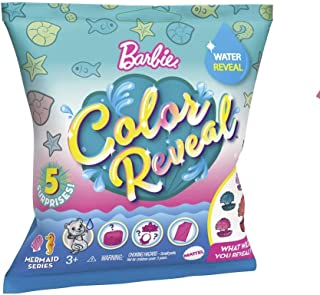 Barbie Color Reveal 5 Surprises Mermaid Series Blind Package