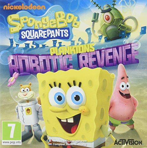 Spongebob Squarepants: Plankton's Robotic Revenge  [Importación Francesa]