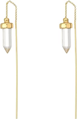 Crystal Threader Earrings