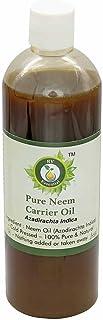 El aceite de neem   Azadirachta Indica   Para plantas   Para el crecimiento del pelo   Para piel   Prensado en frío   100% natural puro   Neem Oil  100ml   3.38oz By R V Essential