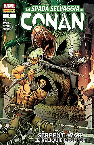 #MYCOMICS La espada salvaje de Conan N° 9 – Panini Comics – Italiano