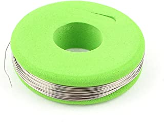 SOURCING MAP sourcingmap® 80 nicromio 0,3mm redondo 28 calibreAWG 32,8pies Rollo 15,42Ohm/m Cable calefactor