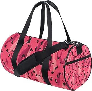 MIFSOIAVV Travel Duffel Bag Vector Wild Animal Panther Leopard Pattern Sports Lightweight Canvas Gym Luggage Handbag Overnight Weekend Bag for Men Women