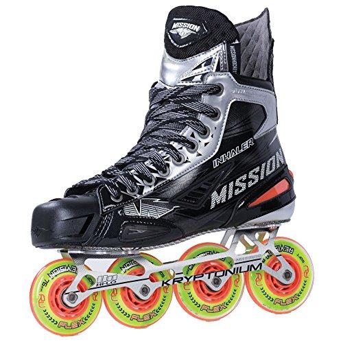MISSION Inhaler NLS:01 Senior Inline Hockey Skates, 09.5, D