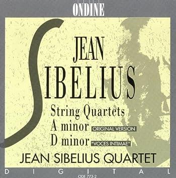 Sibelius, J.: String Quartets in A Minor / D Minor