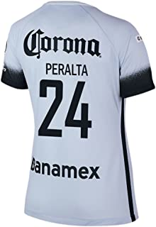NIKE Peralta #24 Club América Stadium Decept Third Jersey 2016 Women's