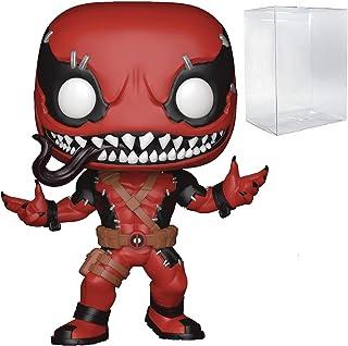 POP Marvel: Deadpool - Venompool Funko Pop! Vinyl Figure (Bundled with Compatible Pop Box Protector Case)