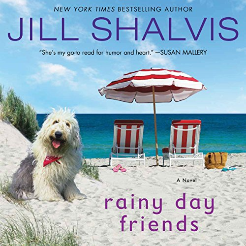 Rainy Day Friends audiobook cover art