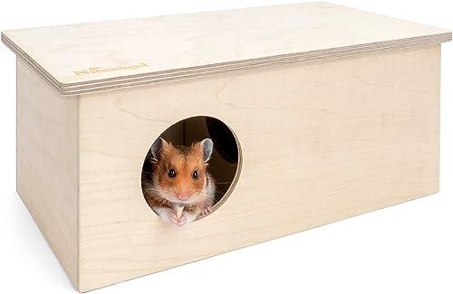 4 X vainas de pequeños animales mascotas ropa de cama de algodón material Nido Ratones Hámsteres Aves