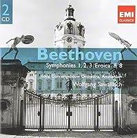 Symphonies 1-3 & 8