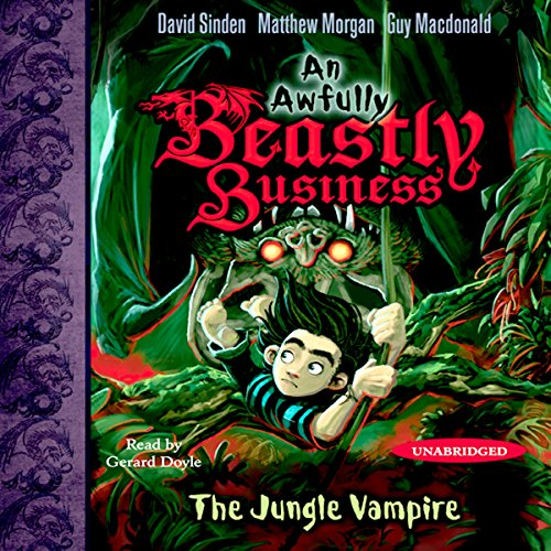 The Jungle Vampire audiobook cover art