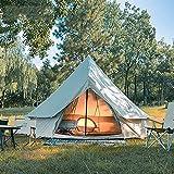 Tienda de campaña 4M, impermeable de doble capa, tienda tipi india para acampar, tienda para...