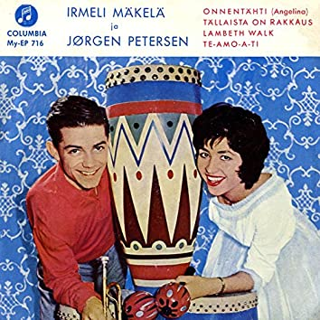 Irmeli Mäkelä ja Jörgen Petersen