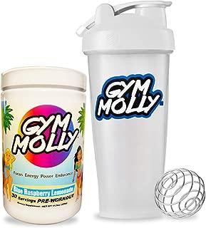 Gym Molly - Blue Raspberry Lemonade & Classic Blender Bottle (28 oz)