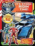 It's Storm Ridin' Time! Sticker Activity Book (Hot Wheels Battle Force 5)