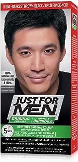 Just For Men Original Formula Men's Hair Color, Real Darkest Brown-Black