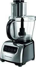 Russell Hobbs RHFP5000, Classic Food Processor, 2,6L Work Bowl and Mini, 3 Speeds, Silver